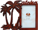 Coconut Ukulele Wood Picture Frame - The Hawaii Store
