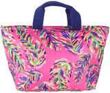 Lunch Carry All Pink Frond - The Hawaii Store