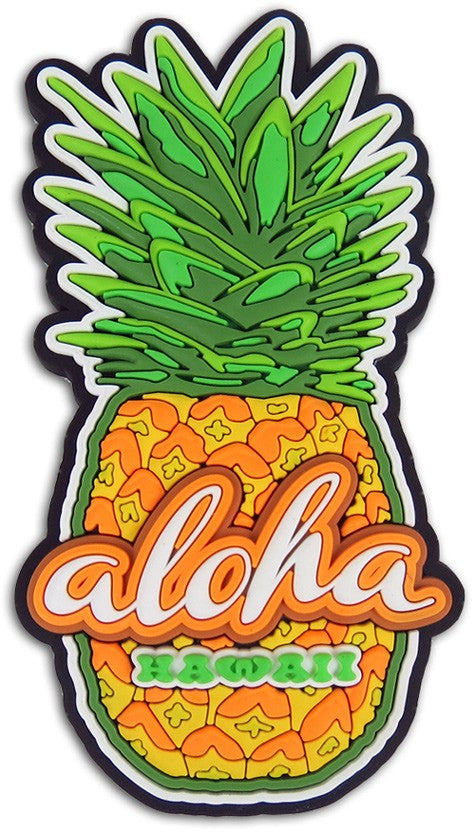 PVC Pineapple Magnet - Polynesian Cultural Center