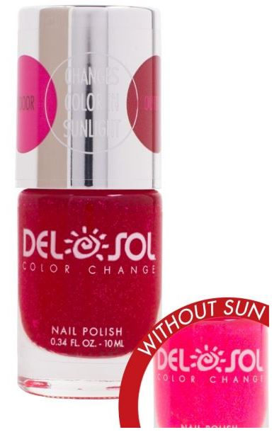 Color-Changing Nail Polish - Get Your Pink On - Polynesian Cultural Center