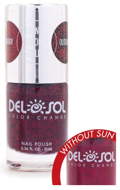 Color-Changing Nail Polish - Triple Digit Drama - The Hawaii Store