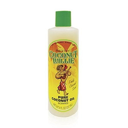 Coconut Willie - Scented Coconut Oil 8 oz - The Hawaii Store