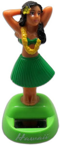 Solar Hula Dancer Dashboard Doll 4.25''