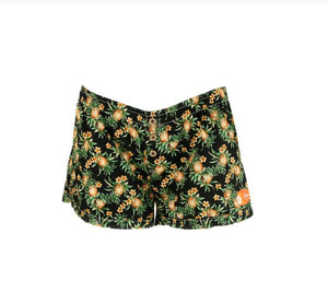 Baby Pineapple Bamboo Shorts - The Hawaii Store
