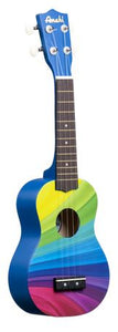 Amahi Soprano Ukulele -  Wavy Rainbow - The Hawaii Store