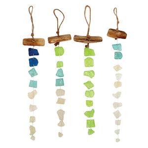 Seaglass Wind Hanger 4.7x18 - Polynesian Cultural Center