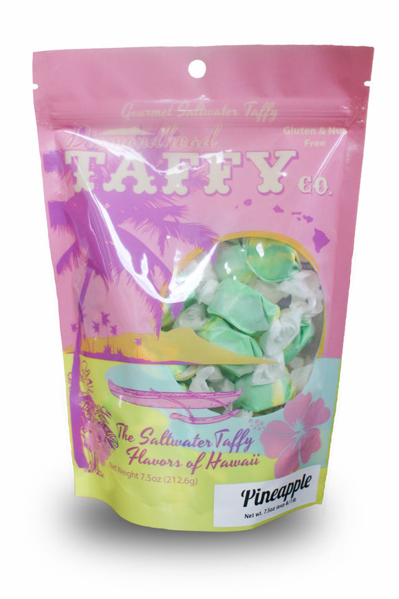 Pineapple Taffy 7.5oz Bag - The Hawaii Store