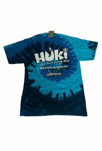 HUKI Ocean Tie Dye T-shirt - The Hawaii Store
