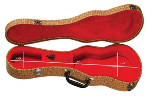 Eddy Finn Tenor Hard-shell Case - Rattan - The Hawaii Store