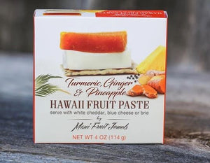 Hawaiian Fruit Paste -Tumeric Ginger Pineapple 4oz - Polynesian Cultural Center