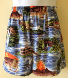 Bamboo Boxer Hawaii Calls Shorts - The Hawaii Store