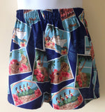 Bamboo Boxer Hula Halau Shorts - The Hawaii Store