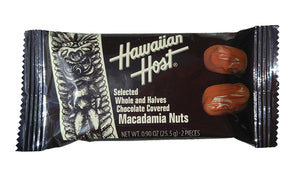 Hawaiian Host Tiki Mac Nuts Bar 0.9oz - The Hawaii Store