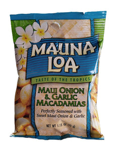 Mauna Loa Maui Onion Garlic Macadamia 1.1oz - The Hawaii Store