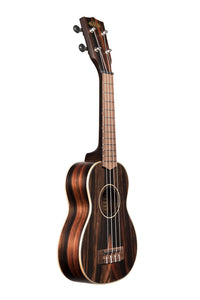 Kala Soprano Ukulele - Striped Ebony w/ Satin Finish - The Hawaii Store