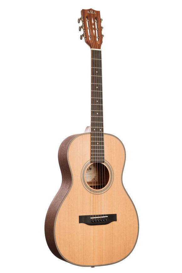 Kala Parlor Guitar - Solid Cedar w/ Hard Case - The Hawaii Store