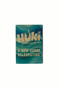 Huki Wood Magnet - The Hawaii Store