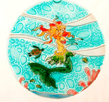 Handcrafted Glass Dancing Mermaid Ornament - The Hawaii Store