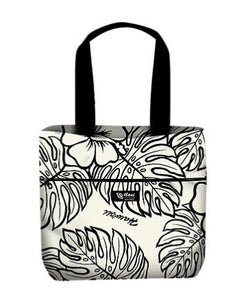 Luxury Hibiscus Reversible Tote Bag Assorted - The Hawaii Store