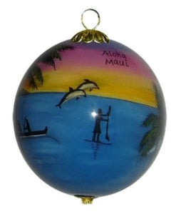 Ocean Pleasures Ornament - The Hawaii Store