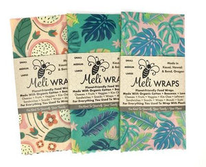 Meli Wrap 3pk Assorted Colors - The Hawaii Store