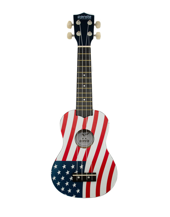 Amahi Soprano Ukulele - American Flag - The Hawaii Store