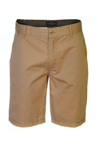 "Pete Huntington ""Cotton Twill"" Tan Men's Shorts - The Hawaii Store"