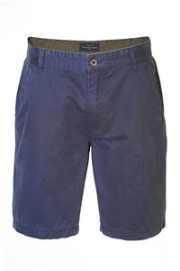 "Pete Huntington ""Cotton Twill"" Navy Men's Shorts - The Hawaii Store"