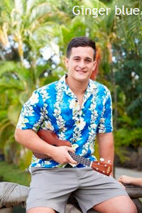 Men's Hawaiian Aloha Print Shirt - The Hawaii Store