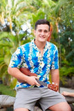 Hawaiian Aloha Shirt in Ginger Blue or Ginger Purple 2XL - The Hawaii Store