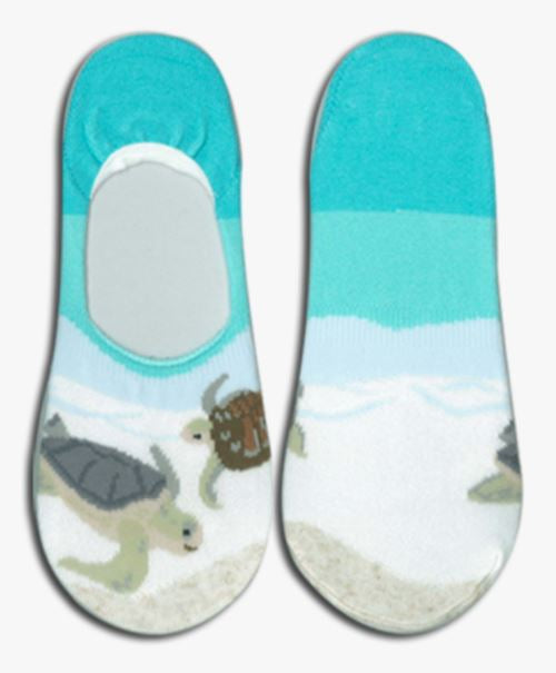 Sea Turtle Couple Socks - The Hawaii Store