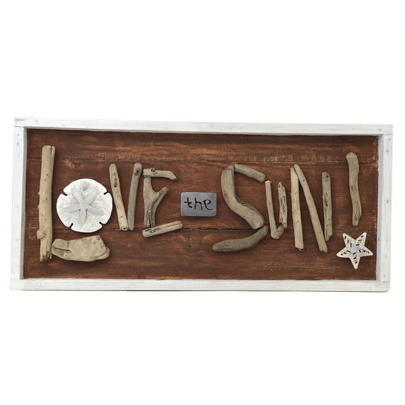 Wood/Metal Love Plaque33.99 - Polynesian Cultural Center