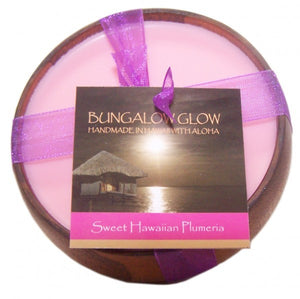 Sweet Hawaiian Plumeria Soy Bowl Candle - The Hawaii Store