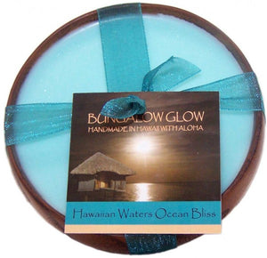 Bungalow Glow Candle ''Hawaiian Waters Ocean Bliss'' - The Hawaii Store