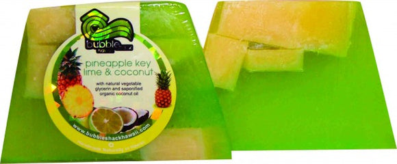 Pineapple Chunk Key Lime Soap - The Hawaii Store