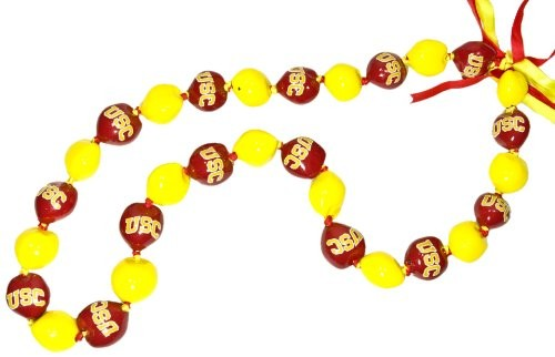 University of Southern California Trojans Kukui Nut Lei - Polynesian Cultural Center