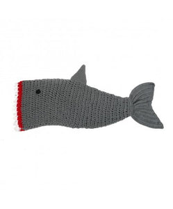 Knit Shark Blanket 56'' - The Hawaii Store