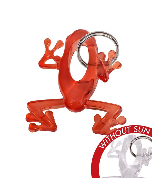 DelSol Key Chain Frog Orange