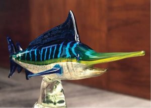 Limited Edition Glass Mega Marlin - The Hawaii Store
