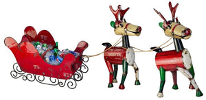 Reindeer and Sled Set - The Hawaii Store