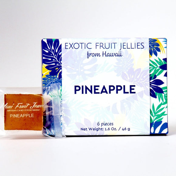 Pineapple Fruit Jewels 6 pc - The Hawaii Store