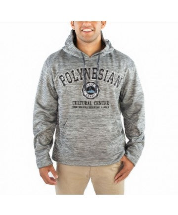 Hoodie Polynesian Cultural Center logo Charcoal - The Hawaii Store