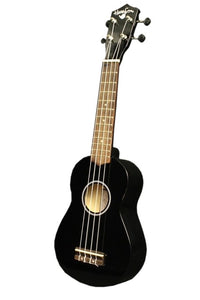 Hangloose Soprano Ukulele - Black - The Hawaii Store