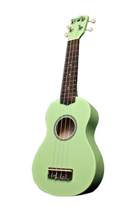 Hangloose Soprano Ukulele - Light Green - The Hawaii Store