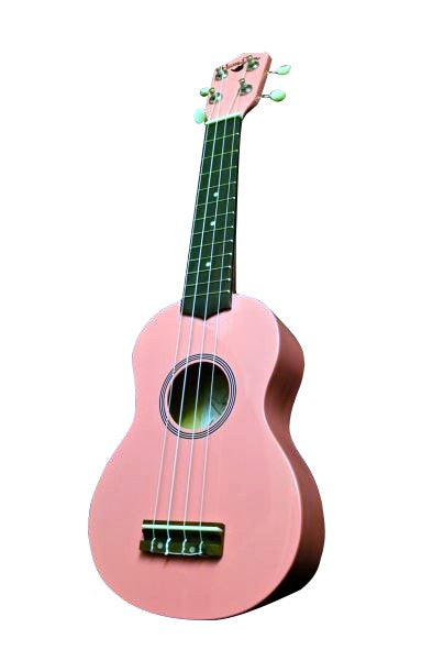 Hangloose Soprano Ukulele - Pink - The Hawaii Store