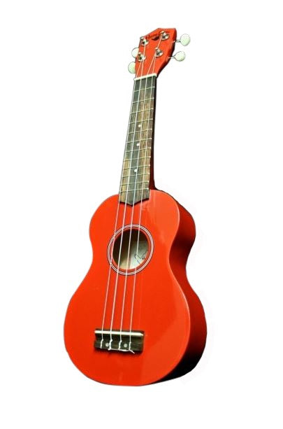 Hangloose Soprano Ukulele - Red - The Hawaii Store