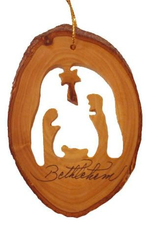 Nativity Ornament - Polynesian Cultural Center