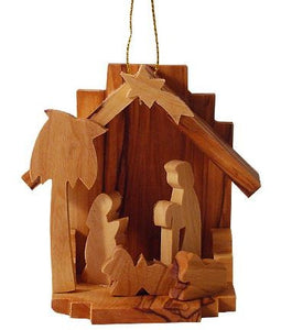 3-D Nativity Ornament - The Hawaii Store