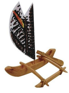 Wood Canoe Kit 10 inch - The Hawaii Store