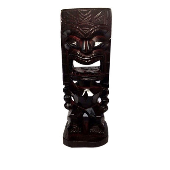 Wooden Hawaii Love Tiki 8''